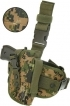 UTG Special Ops Universal Tactical Leg Holster, Woodland Digital