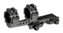 UTG 30mm Integral Offset QD Scope Mount, Picatinny, Half-Ring Top Picatinny Slots