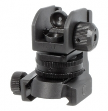 UTG Mil-Spec Compliant Compact A2 Rear Sight with Full Range W/E Adj.