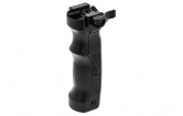 UTG D Grip with Ambi. Quick Release Deployable Bipod