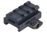"UTG 0.5"" 3-Slot Low Profile Compact Riser Mount"