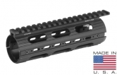 UTG PRO AR15 Carbine Length Super Slim Drop-in Handguard Rail Extended to Upper