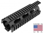 UTG PRO AR15 Carbine Length Drop-in Quad Rail Extended to Upper