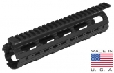 UTG PRO AR15 Mid Length Super Slim Drop-in Handguard Rail Extended to Upper