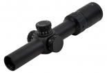 "SKW Optics 1-6X24 4.5"" Long Eye Relief Carbine Scope, Illum. Etched Glass Mil-dot Reticle"