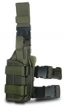 UTG LE Tactical Special Ops Leg Holster, OD Green