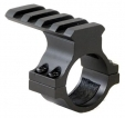 Shotgun Magazine Tube Mount with 4-Slot Picatinny Rail