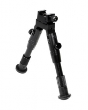 UTG Universal Shooter's Bipod - SWAT/Combat Profile Adjustable Height