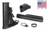 UTG PRO AK Mil-spec Telescoping Stock Assembly - Black