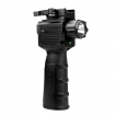 VISM Vertical Grip Foregrip w/ LED Flashlight Green Laser Sight Combo