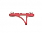 Anti-slip Keymod Compact Hand Stop Red