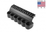 Mesa Tactical 90880 SureShell 6 Shell Carrier and Top Rail for Benelli M4 12-GA