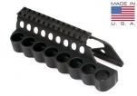 Mesa Tactical 91640 SureShell 8 Shell Carrier and Top Rail for Remington 870 1100 11-87 12-GA