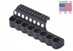 Mesa Tactical 93640 SureShell 8 Shell Carrier and Top Rail for Mossberg 500 12-GA